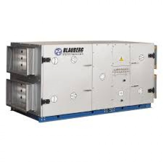 BlauAir modular air handling unit with Heat recovery