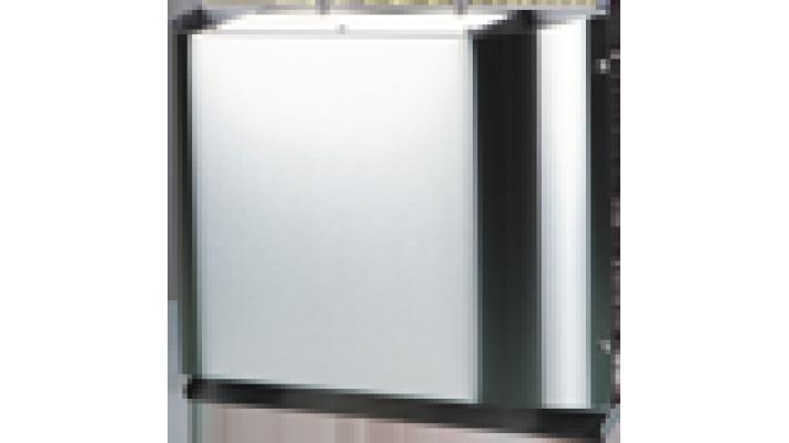 Grille extérieur pour mur étroit pour appareil Vento A50- Acier Inoxydable