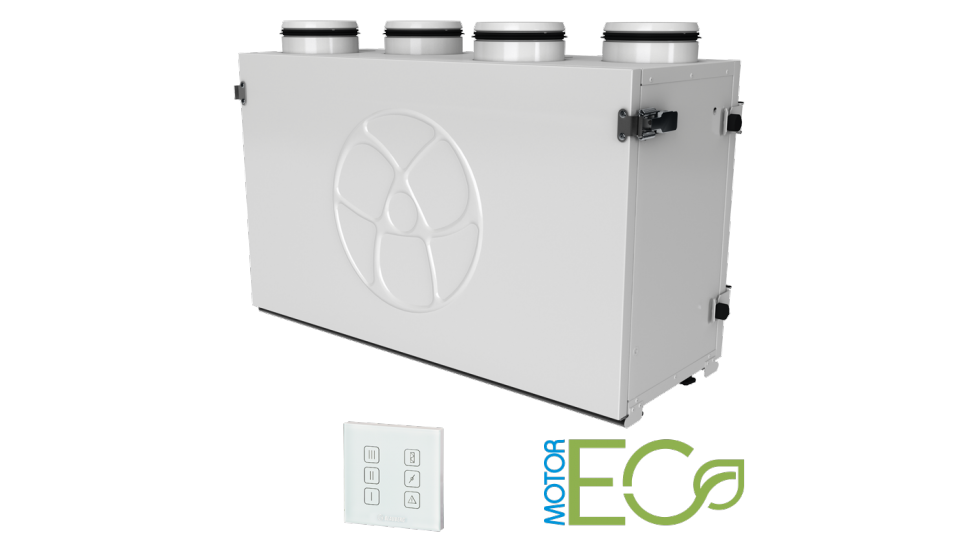 Komfort EC-SB-350 High Efficiency  Heat recovery ventilation system HRV