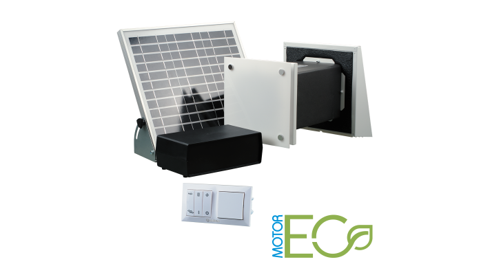 Heat recovery ductless ventilator Vento  V60 PRO- Low Voltage